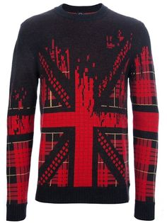 MCQ BY ALEXANDER MCQUEEN Union Jack Knit Sweater