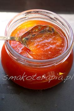 CUD MIÓD z ARBUZA - Smakoterapia Peach Jam, Polish Recipes, Fermented Foods, Canning Recipes, Yummy Eats, Superfood, My Favorite Food, Food Inspiration, Food To Make