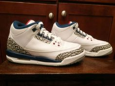 new styles 6b640 559cd Nike Air Jordan 3 True Blue (854261-106)S Child Sz.4Y EXCELLENT Cond! See  Pics.  fashion  clothing  shoes  accessories  kidsclothingshoesaccs   boysshoes ...