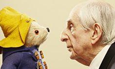 Michael Bond and Paddington Bear