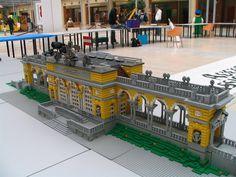 Lego Train Station, Lego Boards, Kitchen Design Open, Lego Trains, Lego Modular, Lego Castle, Cool Lego Creations, Lego Architecture, Lego Moc