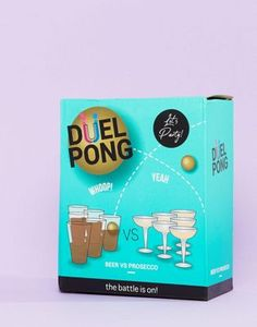 Buy Fizz duel pong beer vs prosecco at ASOS. With free delivery and return options (Ts&Cs apply), online shopping has never been so easy. Get the latest trends with ASOS now.