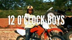 A documentary about the 12 O'CLOCK BOYS, a notorious urban dirt bike pack in Baltimore