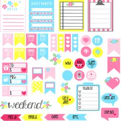 Erin Condren: Hello Ladies! I'm starting a new section here at FPTFY called Planner Addicts and today I am featuring this absolutely gorgeouscollection of free planner stickers by Dru Cortez of VintageGlamStudio.com! When I saw these.. my heart just stopped for a moment and mouth began to drool over all the paper yumminessshe has to …
