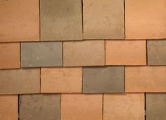Clay Roof Tiles, Tile Crafts, Brick, Colours, Wood, Handmade, Vintage, Decor, Clay Tiles