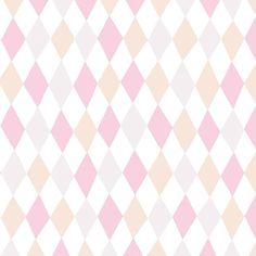 Papel pintado harlequin hampus rosa, telas & papel