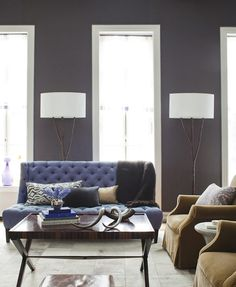 best purple living room ideas images in here | #home decor and design