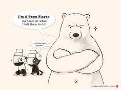 Confession of a brilliant team player.