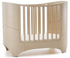 Leander cot Baby bed w/mattress & juniorkit  Whitewash