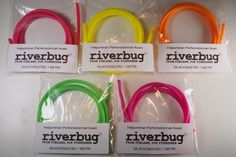 New RiverBug hook holder silicones for tube flies. Nice bright colors for salmon flies. Size 4 X 2 millimeters. #riverbug #tube #tubefly #tubeflytying #body #bodytubing #plasticpipe #pipe #hose #silicone #flytying #fly #flyfishing #putkiperho #perho #tubfluga #fliegen #perhonsidonta #riverbugfinland #siliconetubing #hook #holder #DIY #fishing #tubfluga #fluga www.riverbug.fi