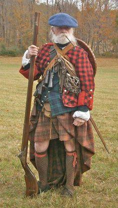 Écossais Habillé à la mode XVIIIème