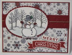 In My Craft Room - Stamping With Glenda: Magic Christmas Stampin' Up! Card #2