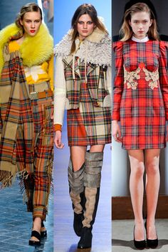 Plaid Fashion for Fall - 2011 Fall Trend Report on ELLE.com