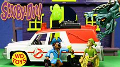 SCOOBY DOO With Ghostbuster Ecto 1 Vehicle Toy Video PARODY, Unboxing - ...