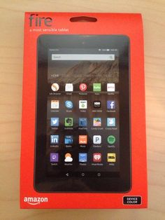 "Anyone looking for a new tablet? 4hrs left: #AMAZON FIRE 7"" TABLET 8GB (2015) WiFi/Quad Core/2 Cameras/MicroSD ≤128GB #Kindle http://www.ebay.com/itm/272096320251"