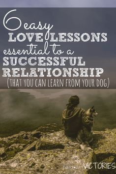 I was instantly reminded of these essential love lessons that guarantee a successful relationship, It is amazing what dogs and all animals can teach us about how to love each other!