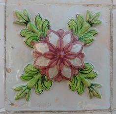 Azulejos portugueses de todas as épocas: azulejos relevados