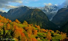Hiking in Switzerland - The beautiful and picturesque Bregaglia Valley in Graubünden