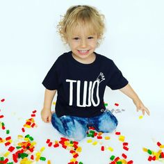 Check out this item in my Etsy shop https://www.etsy.com/listing/492566049/two-shirt-2-year-old-birthday-shirt-two