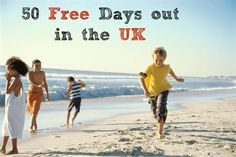 50 free days out in the UK