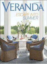 Veranda Magazine Magazine July / August 2012