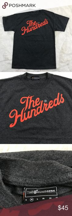 The Hundreds Men Forever Slant LA T-Shirt Medium Item Features: Classic  Crew Neck