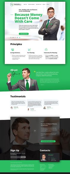 Financial Advisor #wordpresstheme specially designed with the help of financial analytics, business analytics and other professionals.wordpress website template