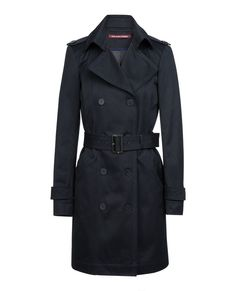 Trench iconique VICASSO - Couleur DARK NAVY