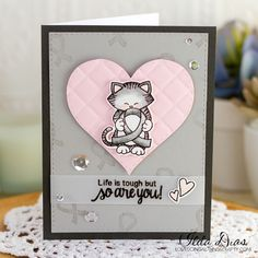 (I) (L)ove (D)oing (A)ll Things Crafty!: Cards for Cancer Featuring Newton's Support Stamp Set