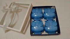 Caixa Coruja Azul Valor = 25,00