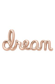 No matter where you are in the real world, your ability to dream can always take you to a higher place. Wear this Key to let your mind soar. Written in the handwriting of our Designer, Charlotte.