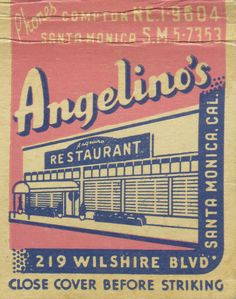 Angelino's Cafe by jericl cat, via Flickr