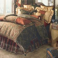 1000 images about bedding on pinterest bed pillow arrangement luxury bedding and tapestry - Fleur de lis bed sheets ...