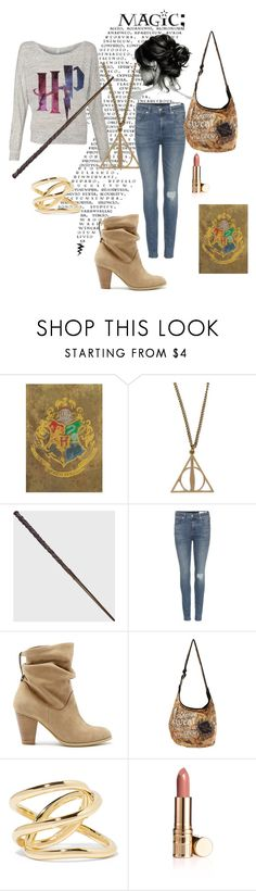 """""""Harry Potter"""" by designed-by-me ❤ liked on Polyvore featuring rag & bone, Sole Society, Jennifer Fisher, cute, harrypotter and hogwarts"""