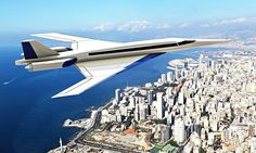 Passengers could break the sound barrier again as technology delivers faster but quieter jets