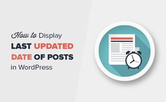 If you update your old content, then showing the last updated date is helpful for users. Here's how to display the last updated date of posts in WordPress.