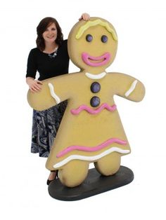 Giant Gingerbread Lady