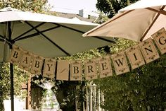 "Burlap & Buttons: ""A Baby is Brewing"" Tea Party Shower. Beer instead of tea. For everyone except mama-to-be Girl Baby Shower Decorations, Baby Shower Themes, Shower Ideas, Diaper Parties, Tea Parties, Tea Party Theme, Party Party, Party Time, Tea Party Baby Shower"