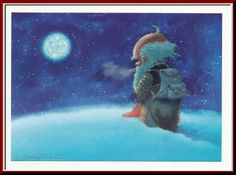 Writing my way around the globe: My favorite Finnish Christmas cards for 2015 Christmas Mail, Christmas Cards, Christmas Ideas, Baumgarten, Gnomes, Troll, Woodland, Scandinavian, Mermaid