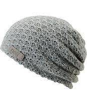 Neff Girls Grams Grey Heavy Knit Beanie
