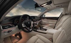 BMW 7 Series Sedan  Ambient lighting found in the BMW 750i xDrive interior.