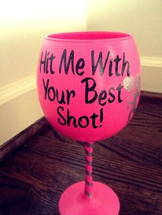 Shop for on Etsy, the place to express your creativity through the buying and selling of handmade and vintage goods. Diy Wine Glasses, Decorated Wine Glasses, Hand Painted Wine Glasses, Vinyl Glasses, Coffee Glasses, Valentine Decorations, Valentine Crafts, Valentines, Wine Glass Crafts