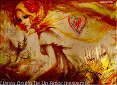AlejoFenix Poesía®: Lienzo Oculto De Un Amor Inesperado