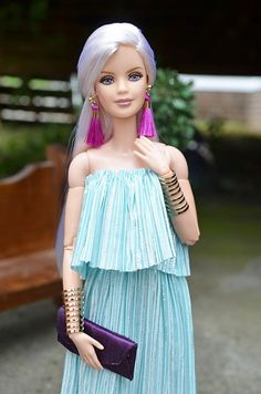 On The Radio | OOAK Dress for Barbie | Chavita L Arriaga | Flickr