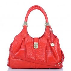 Elisa Hobo Bag in Firecracker  BRAHMIN
