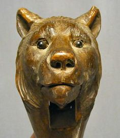 German black forest carved bear nutcracker