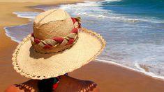 Sombreros de playa, una protección extra