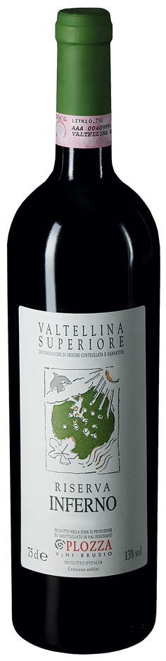 Plozza_Valtellina_Superiore_Riserva_Inferno Varietal:  100% #Nebbiolo  Color:  Garnet red  Bouquet:  Its nose is inviting and promises a rustic wine with notes of ripe wild berries and melted #chocolate  Taste: Hints of alpine herbs, rosemary and licorice. An elegant wine that is rich in finesse yet very distinctive. Fine and numerous tannins cover the sweet fruit with a powdery coating  #Food #Pairing:  An excellent accompaniment to hearty #meat dishes and #pasta