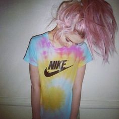 Nike tie dye shirt