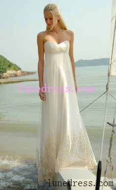 casual wedding dress nice and simple like i like it..